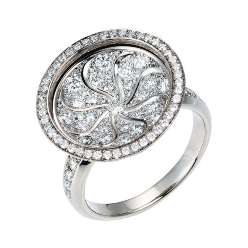 Diamond-set Gold-Ring