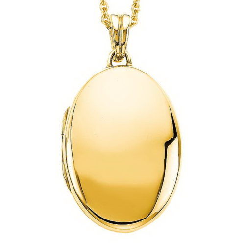 yellow gold, oval, locket-pendant